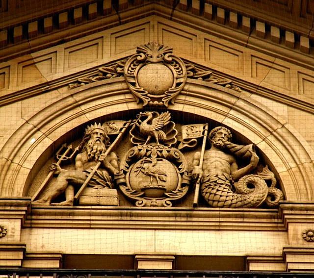 Bank of Liverpool portico