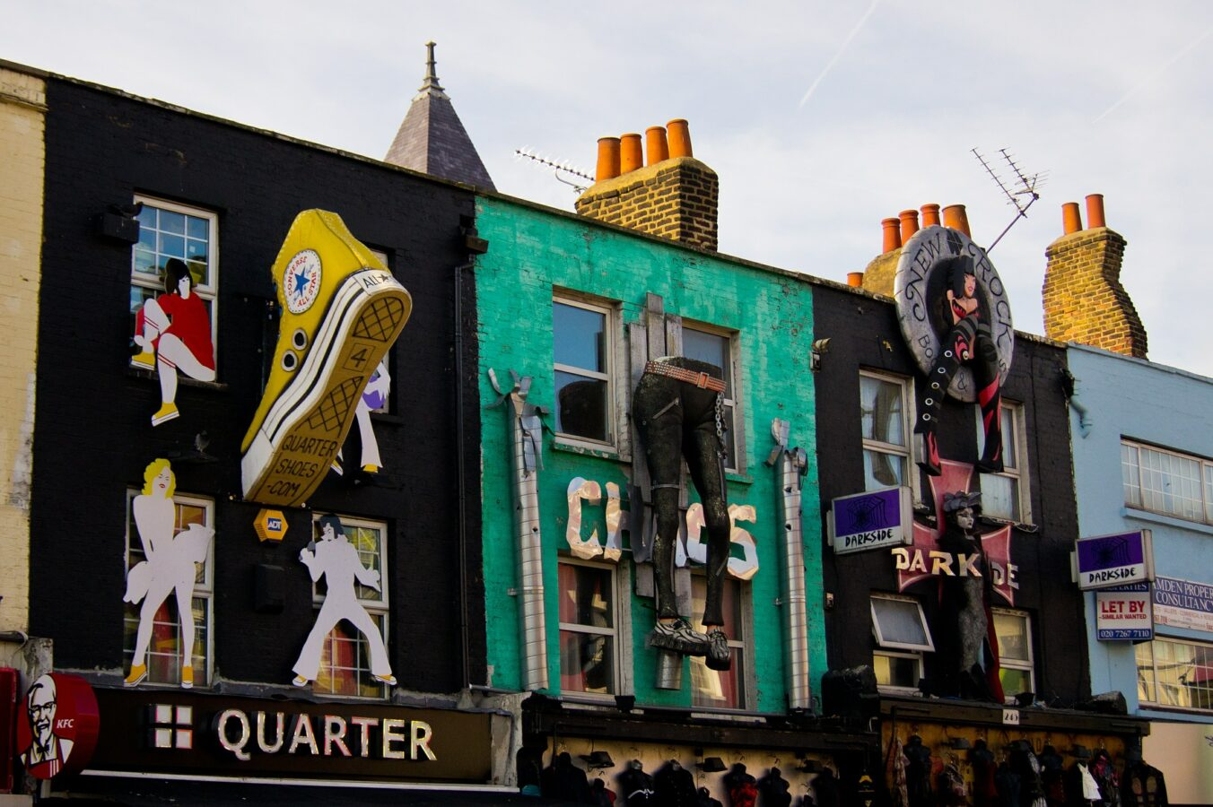 urban design in Camden Town